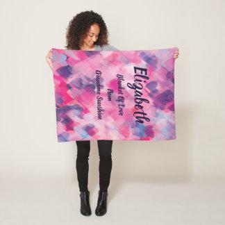 Monogrammed Blanket Of Love