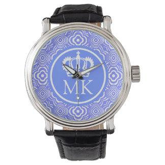 Monogrammed Blue Peddler Big Boss Wristwatches