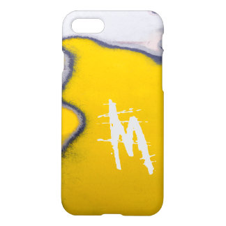 Monogrammed Car Peeling Paint Art iPhone 8/7 Case