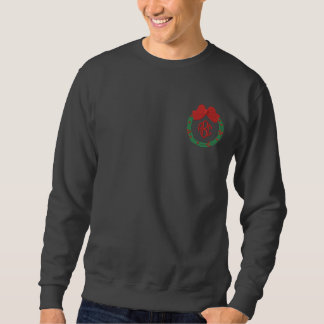 Monogrammed Christmas Embroidered Shirt