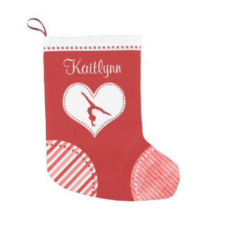 Monogrammed Christmas Patches Gymnastics