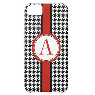 Monogrammed Classic Houndstooth iPhone 5 Case Mate