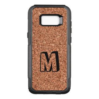 Monogrammed Cork Board OtterBox Commuter Samsung Galaxy S8+ Case