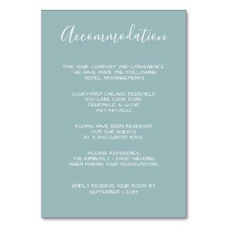 Monogrammed Crest Gold Dusty blue Wedding cards