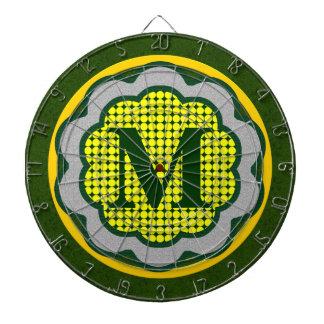 Monogrammed Dartboard