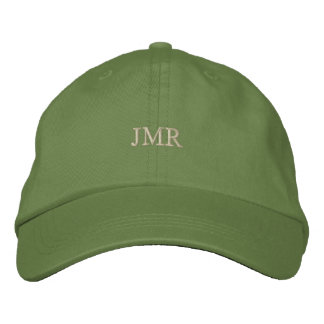Monogrammed Embroidered Hat