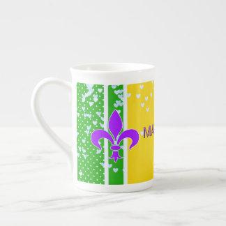 Monogrammed | Fleur de Lis French Tea Cup