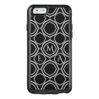 Monogrammed Geometric Shapes OtterBox iPhone 6/6s Case