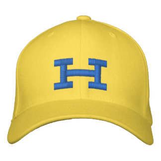 Monogrammed H Adjustable Cap