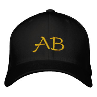 MONOGRAMMED HATS EMBROIDERED CAP