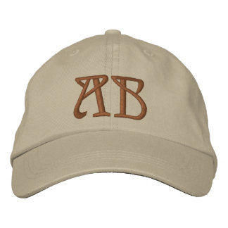 MONOGRAMMED HATS EMBROIDERED HATS