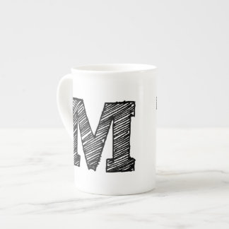 Bone china mugs and cups from Zazzle