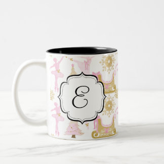 Monogrammed Nutcracker Suite Ballet Tea Coffee Mug