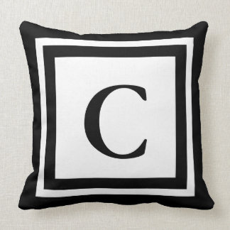 Monogrammed Throw Pillow - Customization available