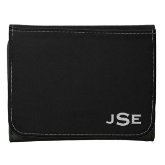 Monogrammed Leather Wallets