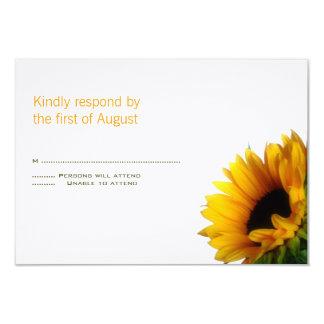 Monogrammed Wedding Response Card 9 Cm X 13 Cm Invitation Card