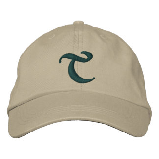 MONOGRAMS EMBROIDERED BASEBALL CAP