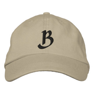 MONOGRAMS EMBROIDERED CAP