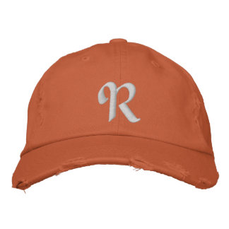 MONOGRAMS EMBROIDERED HATS