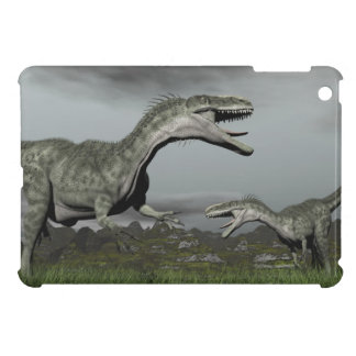 Monolophosaurus roaring - 3D render Case For The iPad Mini