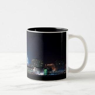 Monona Terrace and Madison Capitol at Night Coffee Mugs
