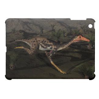 Mononykus dinosaur by night iPad mini cover