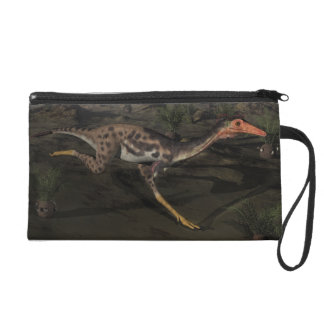 Mononykus dinosaur by night wristlet