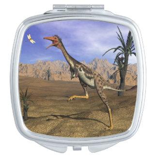 Mononykus dinosaur hunting - 3D render Mirror For Makeup