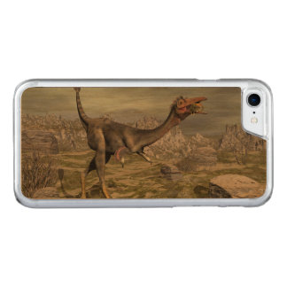 Mononykus dinosaur in the desert - 3D render Carved iPhone 8/7 Case