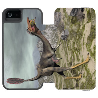 Mononykus dinosaur in the desert - 3D render Incipio Watson™ iPhone 5 Wallet Case