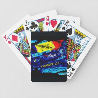 Monoposto - Artwork Jean Louis Glineur Bicycle Playing Cards