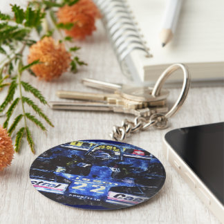 MONOPOSTO - digital kind - Jean Louis Glineur Key Ring