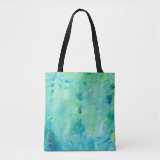 Monoprint Abstract 170267 Tote Bag