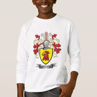 Monroe Family Crest Coat of Arms T-Shirt