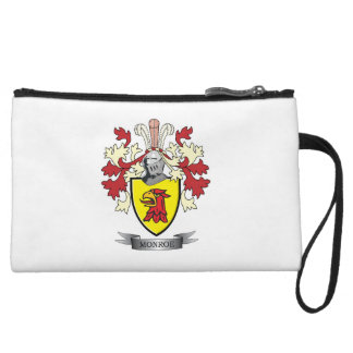 Monroe Family Crest Coat of Arms Wristlet