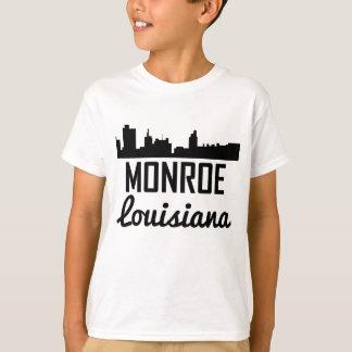 Monroe Louisiana Skyline T-Shirt