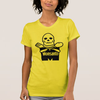 Monsanto Means Death T-shirt