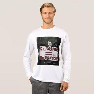 Monsanto = Murder , Anti-GMO Men's Shirt