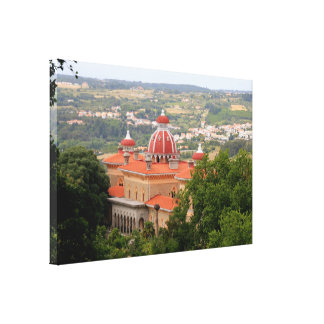Monserrate Palace, near Sintra, Portugal Canvas Print