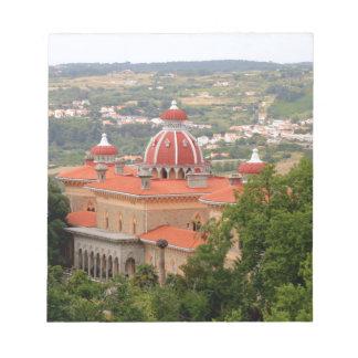 Monserrate Palace, near Sintra, Portugal Notepad
