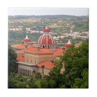 Monserrate Palace, near Sintra, Portugal Tile