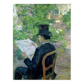 Monsieur Desire Dihau  1890 Postcard