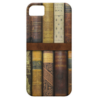 Monsieur Fancypantaloons' Instant Library Bookcase Case For The iPhone 5