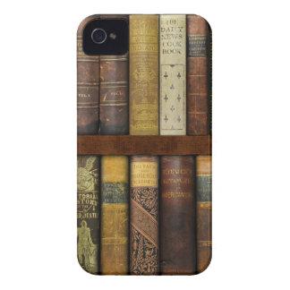 Monsieur Fancypantaloons' Instant Library Bookcase iPhone 4 Case-Mate Case