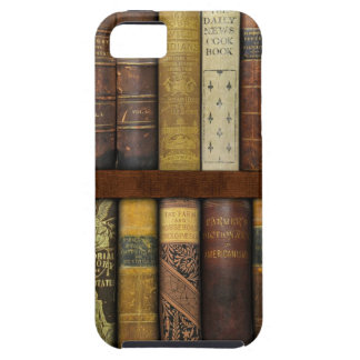 Monsieur Fancypantaloons' Instant Library Bookcase iPhone 5 Cases