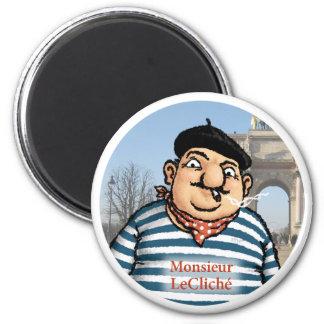 Monsieur LeCliché Magnet