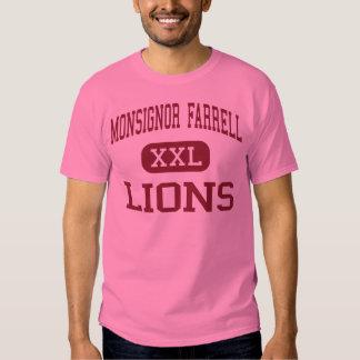 Monsignor Farrell - Lions - High - Staten Island Tees