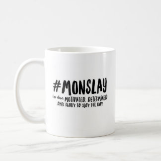 #MONSLAY - Classic White Mug