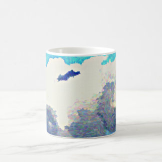 Monsoon Clouds In Oil Women's Coffee Mug
