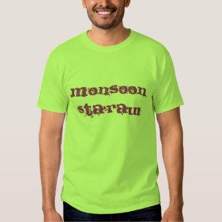 Monsoon Sta`raw Tee-lime/purple T Shirts